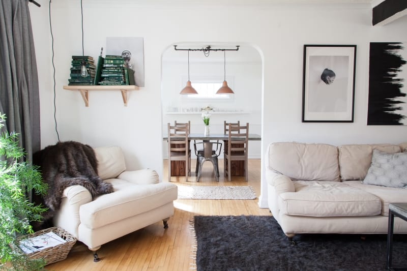 House Tour A Light Amp Simple Scandinavian Inspired Home