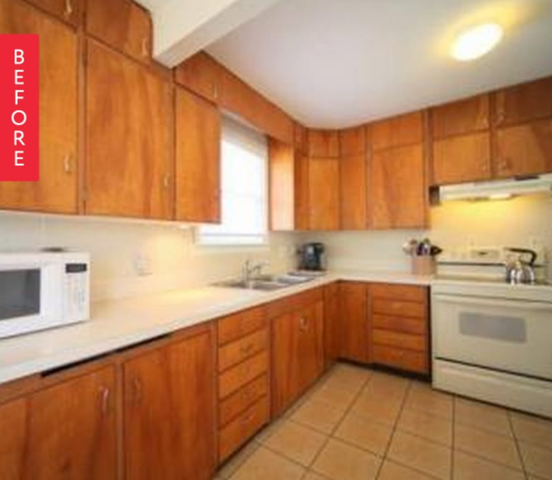 Before & After: Updating 1950s Kitchen In A 1920s Bungalow