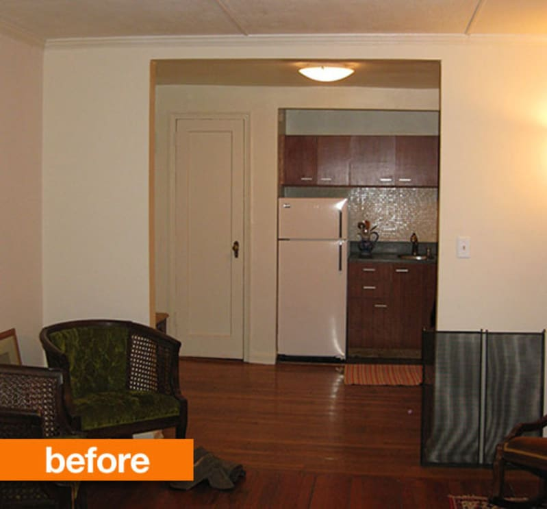 Brooklyn Studio Apartments: Before & After: A Studio Facelift In Brooklyn