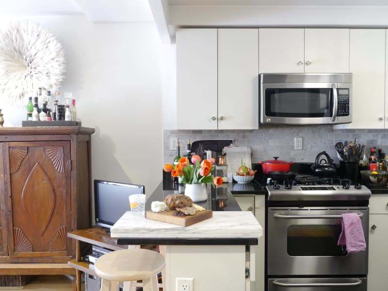 Marissa S Culinary Chic Compact Studio Apartment Therapy