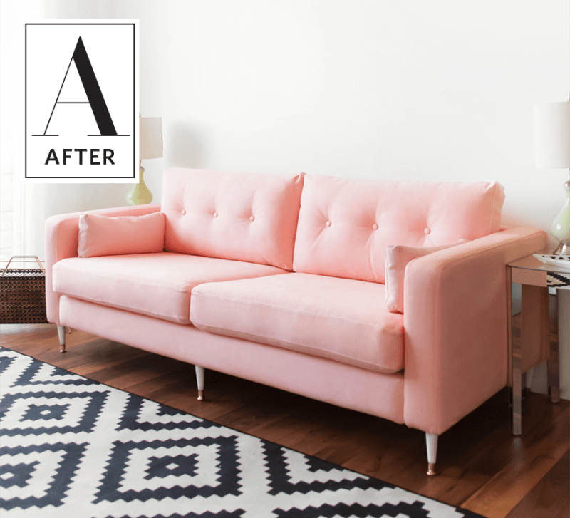 Dying Sofa Covers: DIY Success: Dyeing An IKEA Sofa A New Color