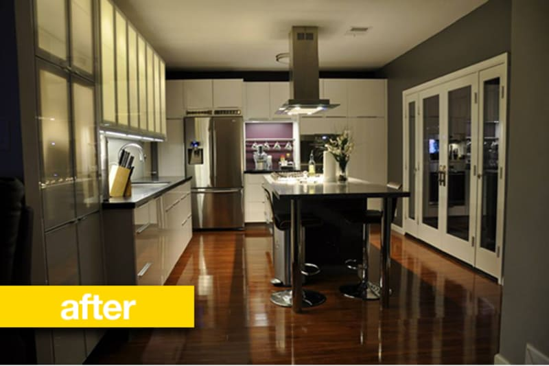 Where Your Money Goes In A Kitchen Remodel: Kitchen Before & After: A Dated 1960s Kitchen Goes Clean