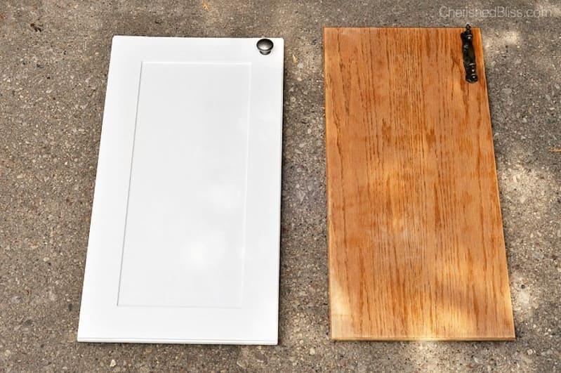 Before & After: An Impressive DIY Cabinet Makeover   Kitchn