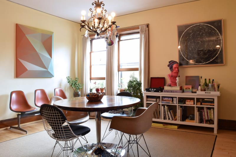 House Tour An Eclectic Mix In A Michigan Rental