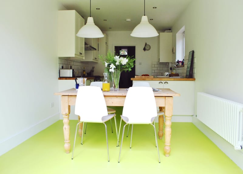 Before Amp After An East London Kitchen Gets A Vibrant