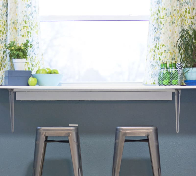 Paint Window Sill Interior: Apartment Therapy