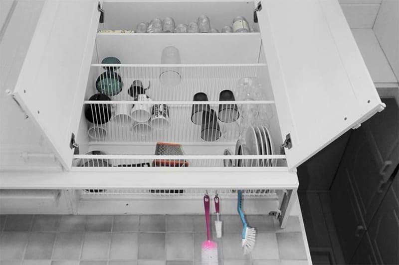 Finnish Dish Drying Closets