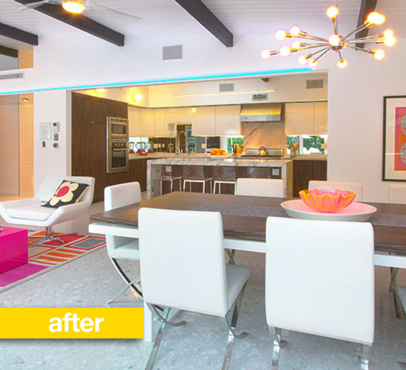 Kitchen Cabinets West Palm Beach Fl: Kitchen Before & After: A Palm Springs Kitchen Gets A