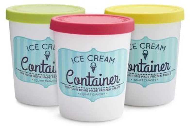 3 Reusable Storage Containers For Your Homemade Ice Cream