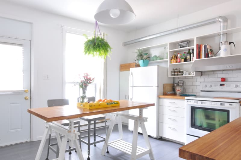 Create Extra Counter Space in a Tiny Kitchen