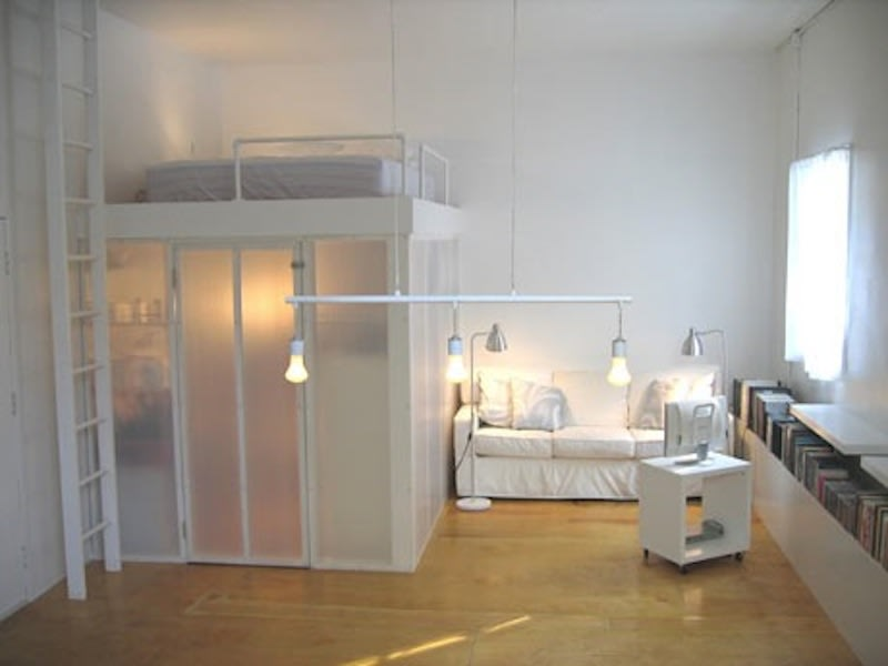 Elevated Loft Bed Hacks Ugrades Apartment Therapy