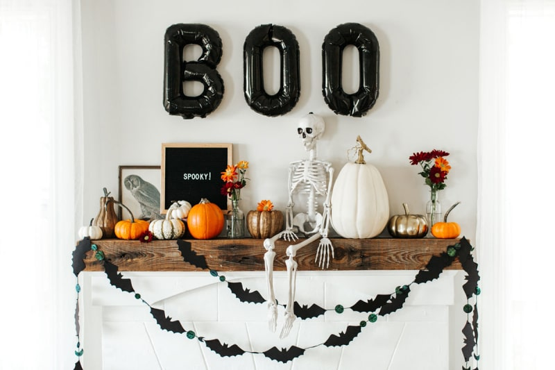decorar la casa en hallowen