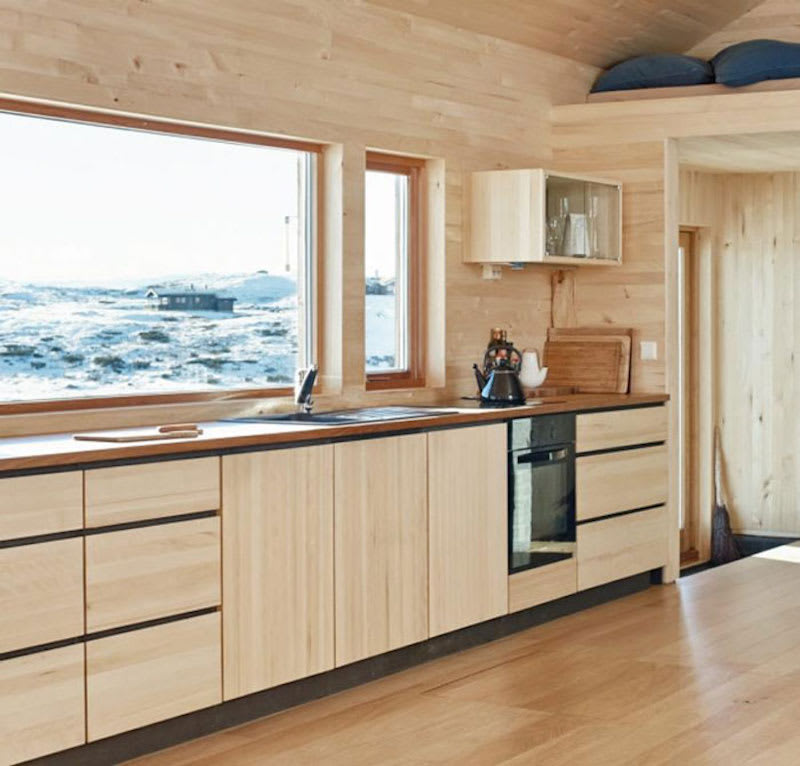 10 Stunning Apartments That Show Off The Beauty Of Nordic: 10 Modern Kitchens Rocking Natural Wood Cabinets