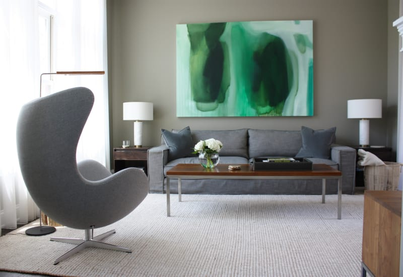 Gabriel Amp Grant S Warm Minimalism In Chicago Apartment