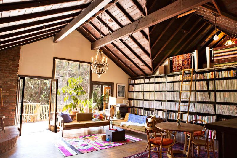 Kristin & Derek's Musical Laurel Canyon Lodge   Apartment ...