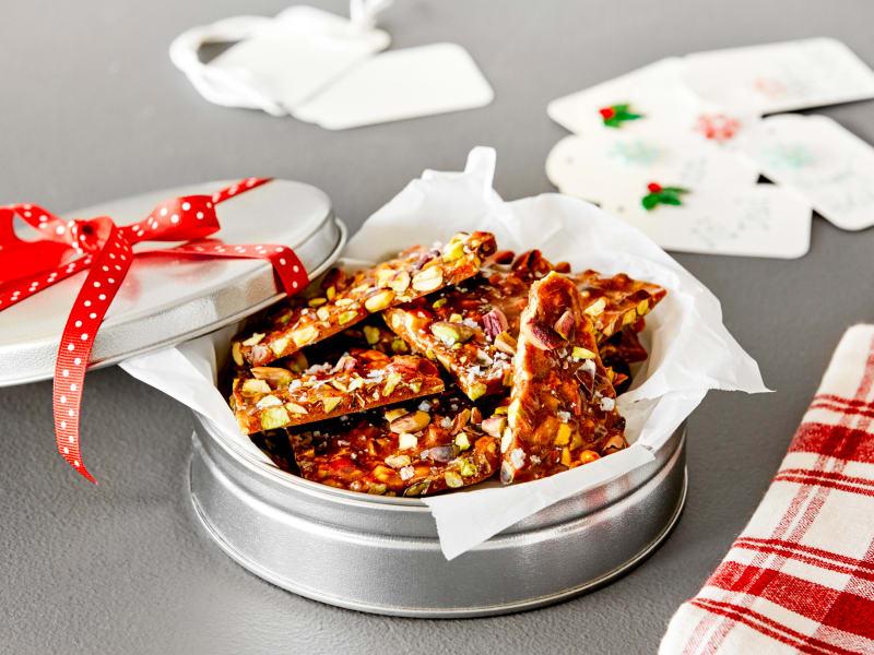 Recipe: Holiday Pistachio Brittle