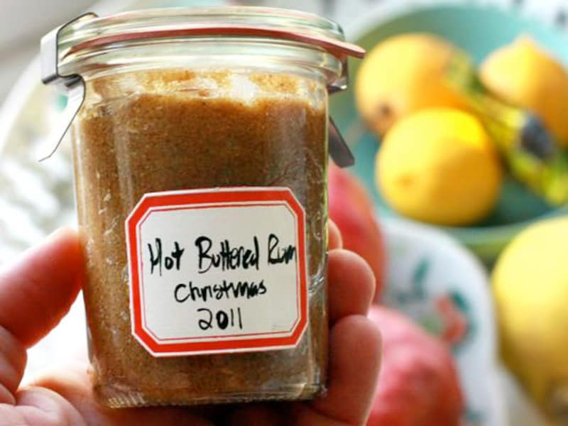 Holiday Gift & Recipe:  Hot Buttered Rum