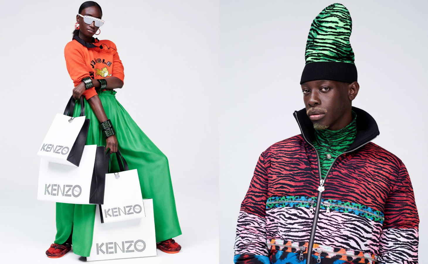 17c9235c94f1 5 KENZO x H&M Looks, In Order of Wearability | Apartment Therapy
