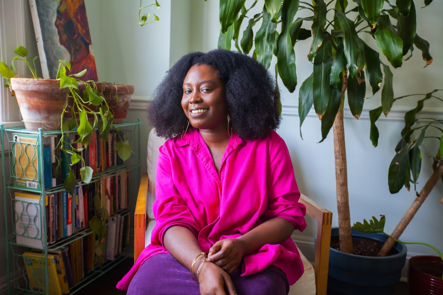 HuffPost Senior Culture Writer Zeba Blay's Afro-Boho Home: gallery image 12