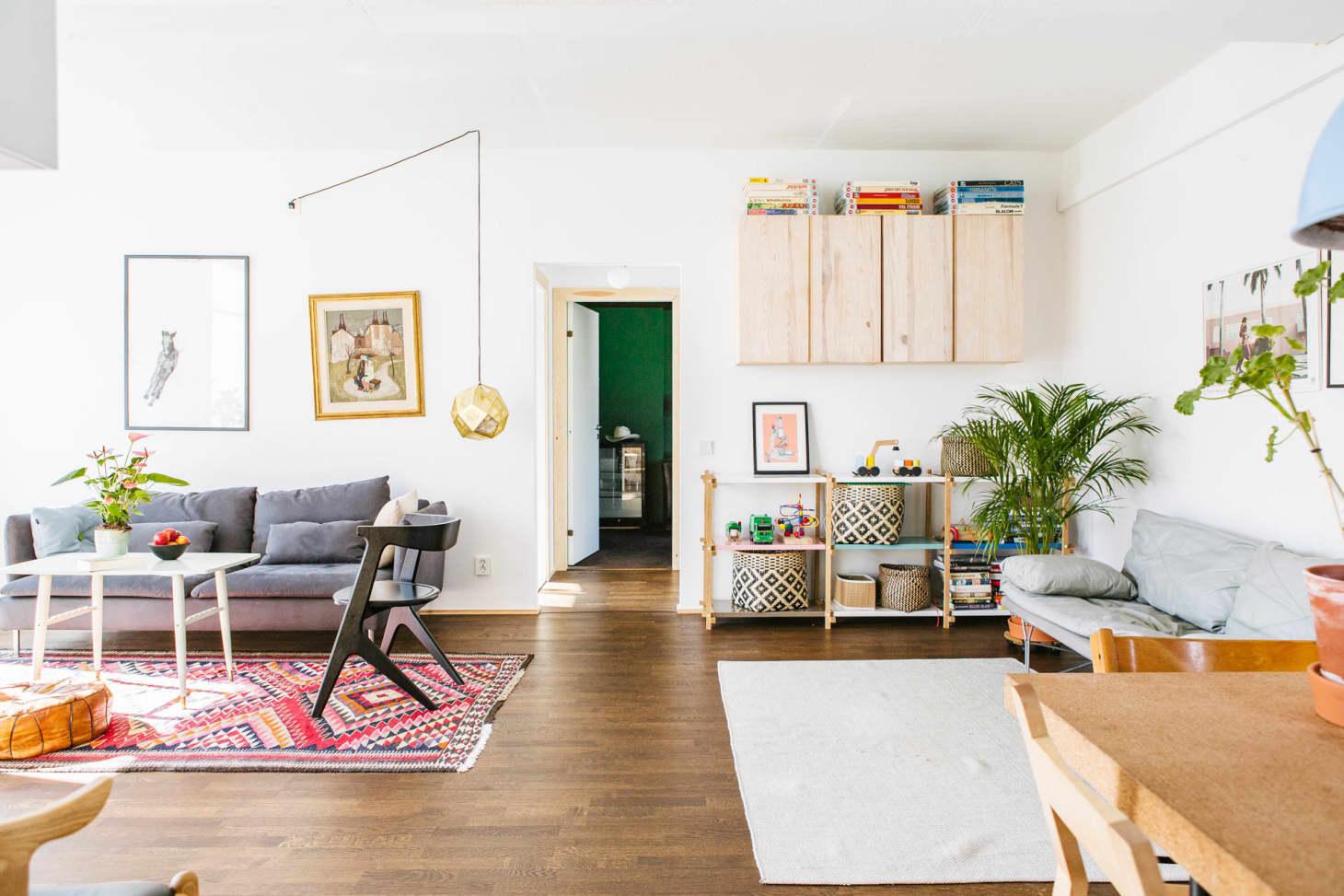 scandinavian living rooms