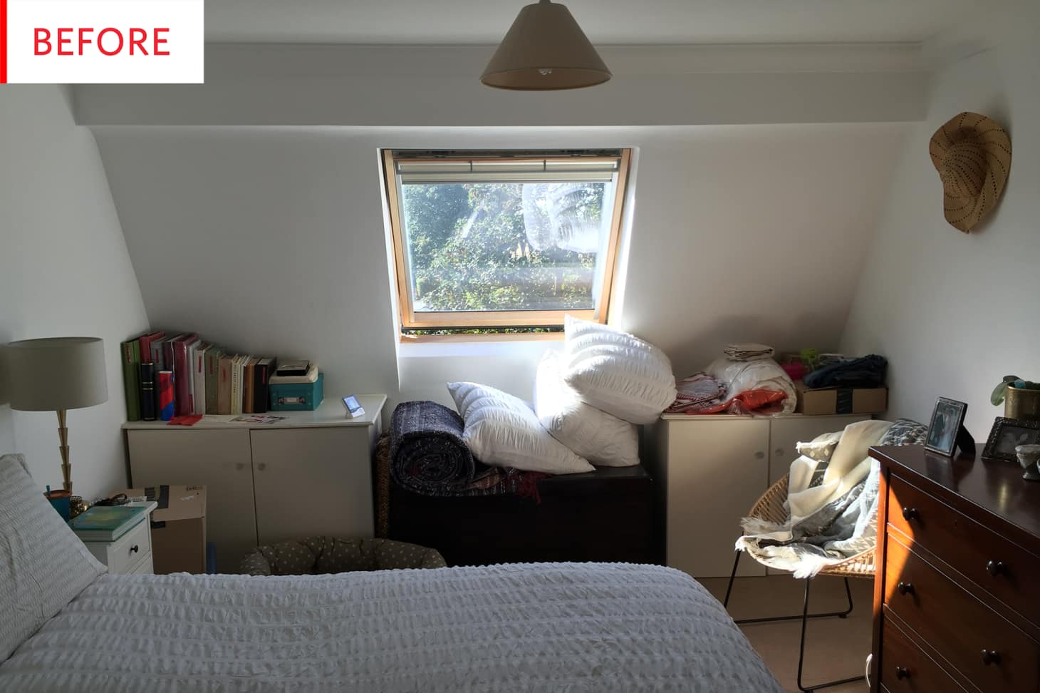 Bon Before And After: See A Bedroom Clutter Zone Become A Functional Home Office