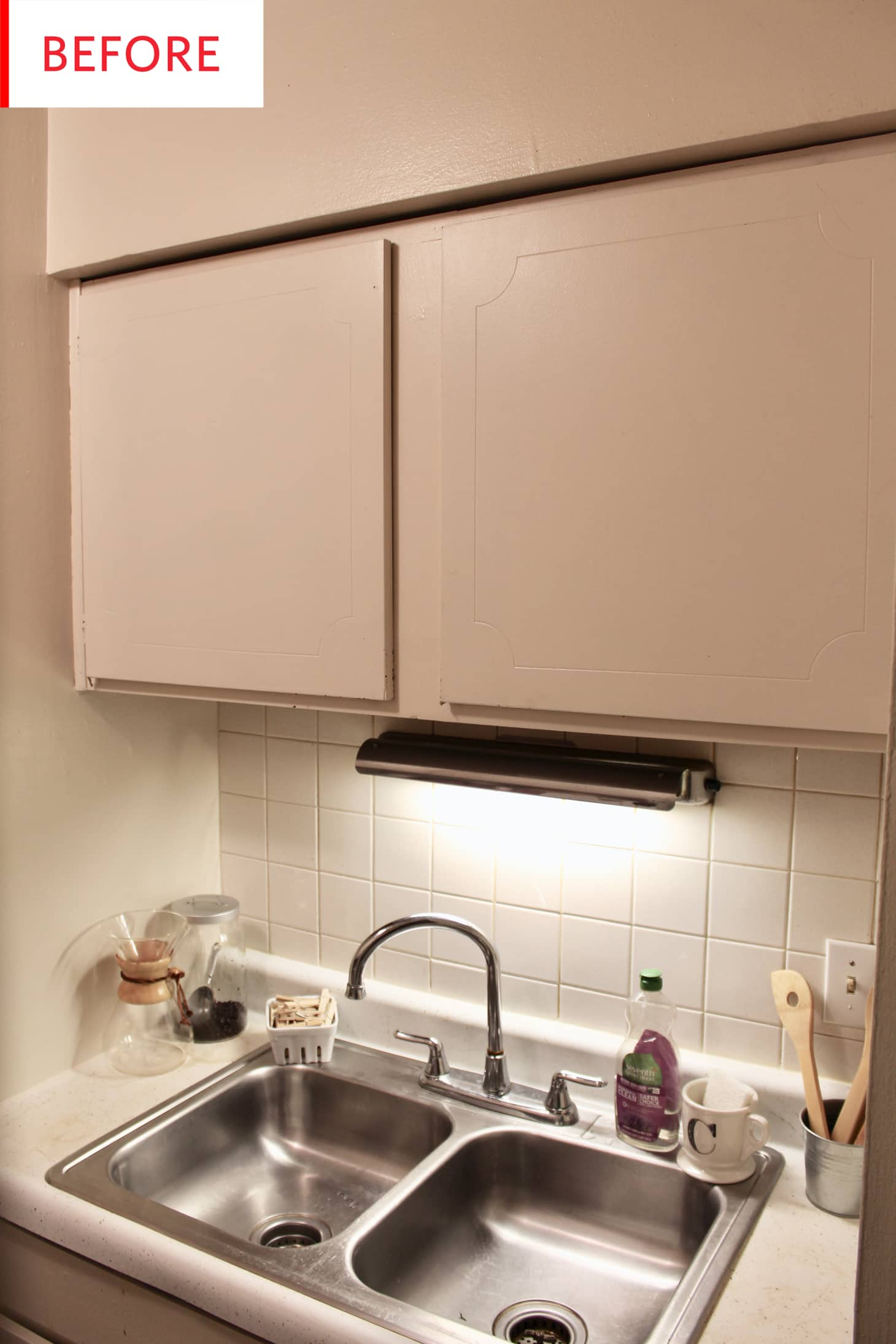 Painted Kitchen Cabinets With Wallpaper Project Photos Apartment