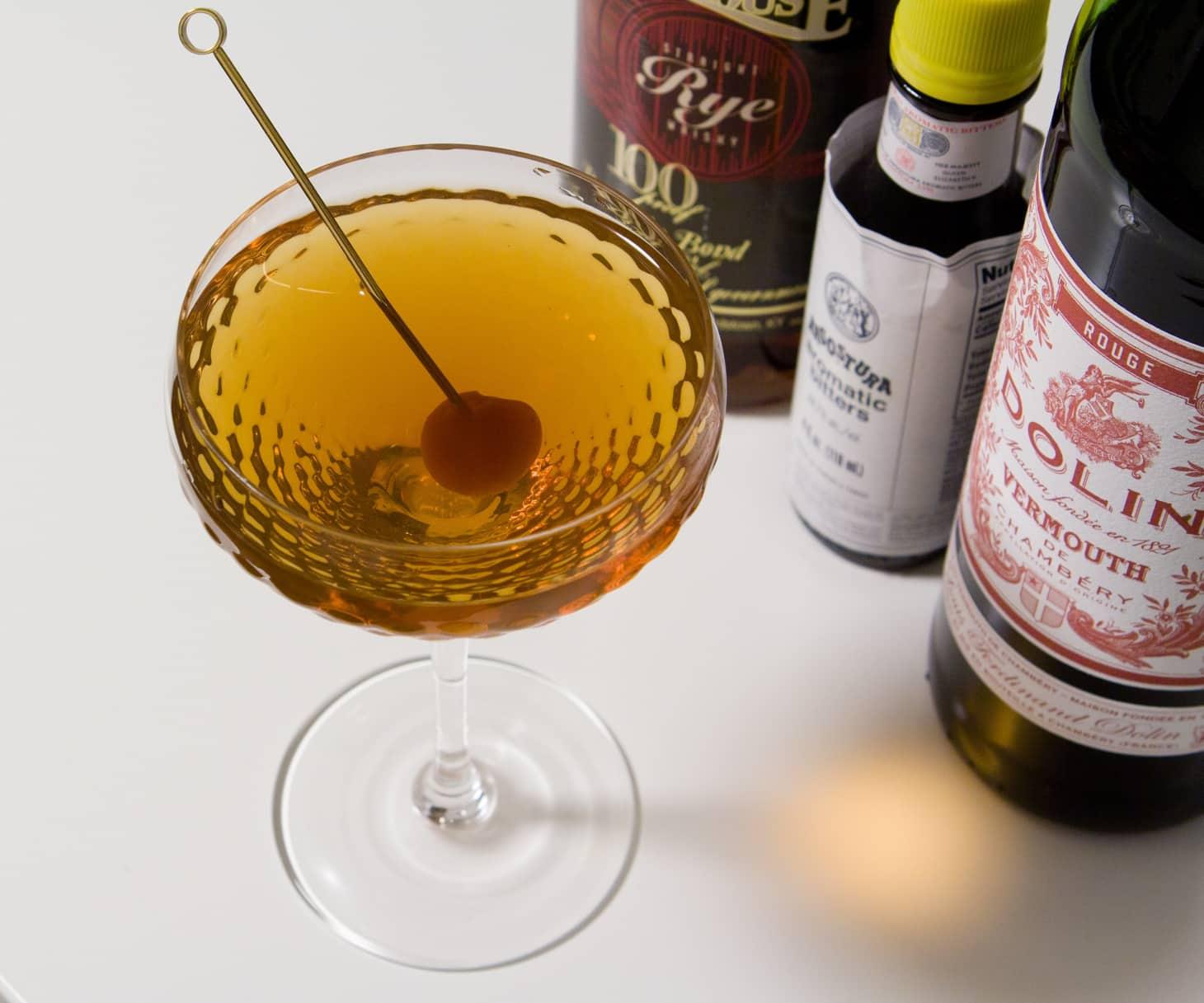 9 Bottle Bar Recipe The Manhattan Kitchn