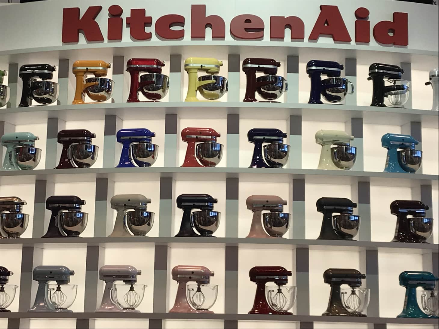 Sungard Exhibition Stand Mixer : New kitchenaid stand mixer colors kitchn