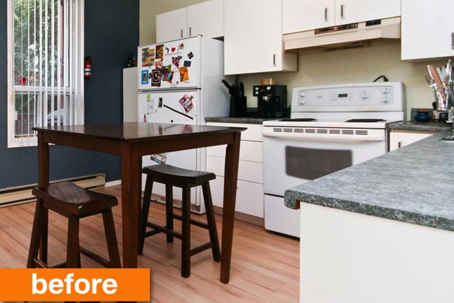 Before & After: A Refreshed and Revamped Kitchen For $1000