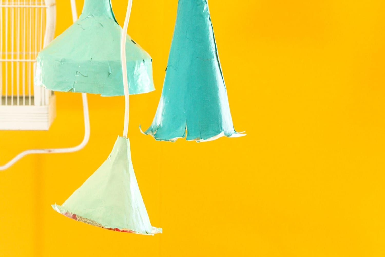 How To Make Paper Mache Pendant Lights Apartment Therapy