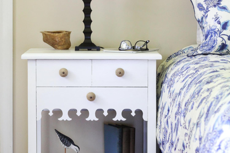 Large Vintage Style Handle Dresser Drawer Door Cabinet Pull Antique White or Pick Color