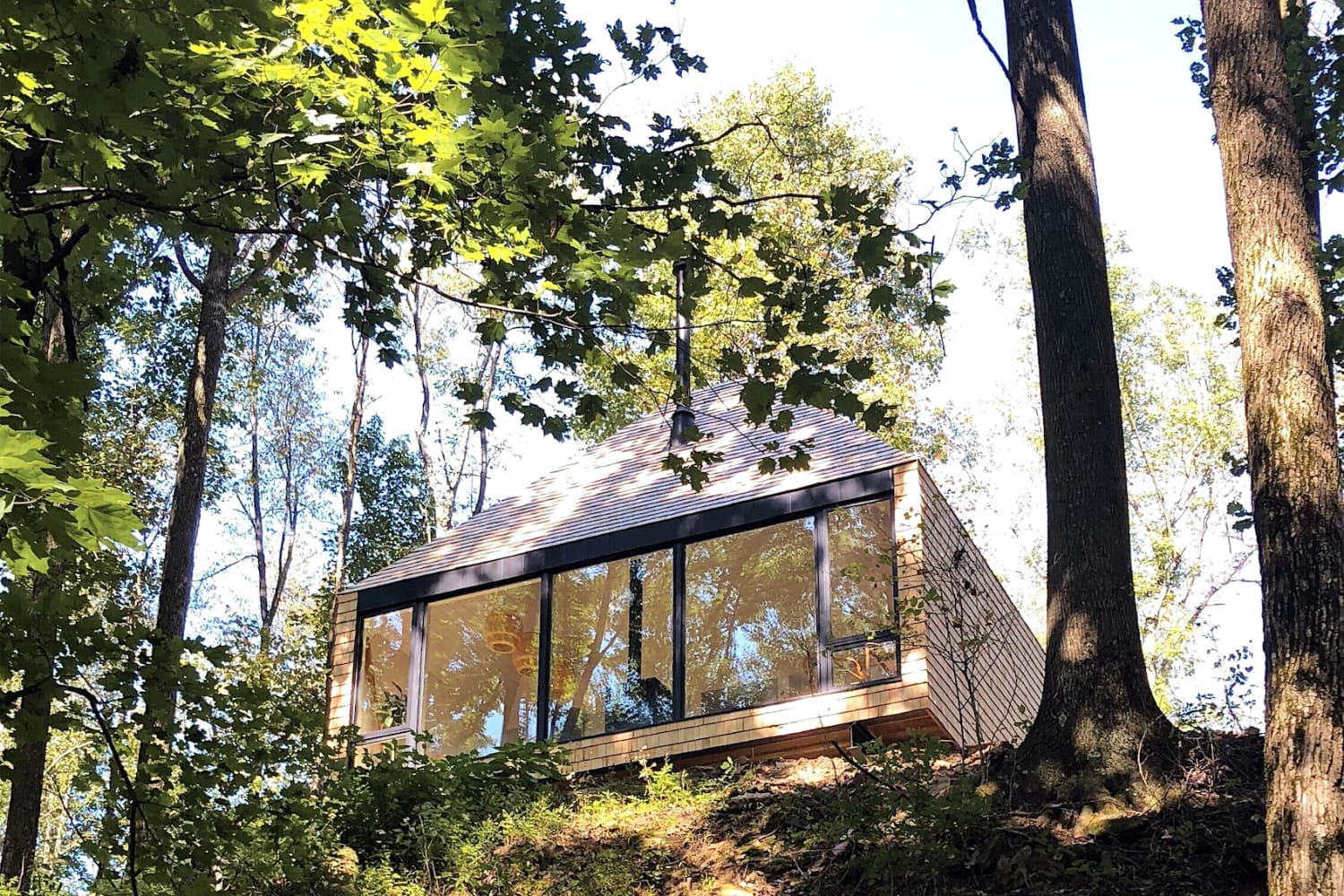 This 650-Square-Foot Family Home in Ohio Is Off-Grid 'Country Minimalism'