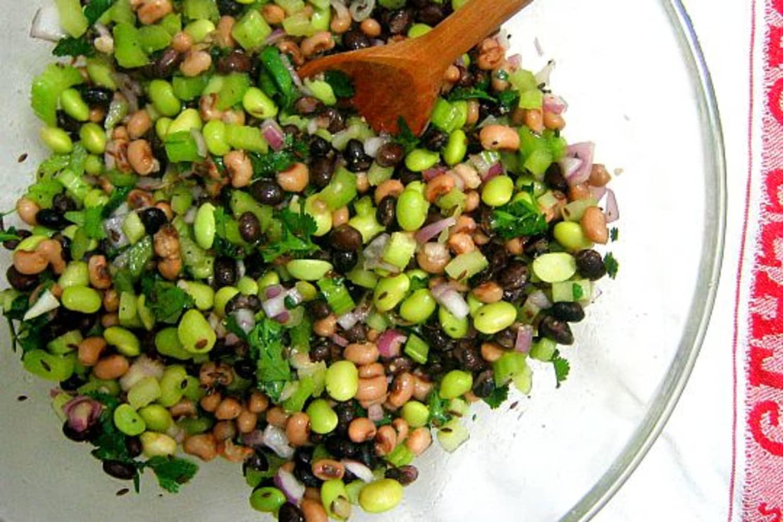 3 Bean Salad Recipe With Edamame
