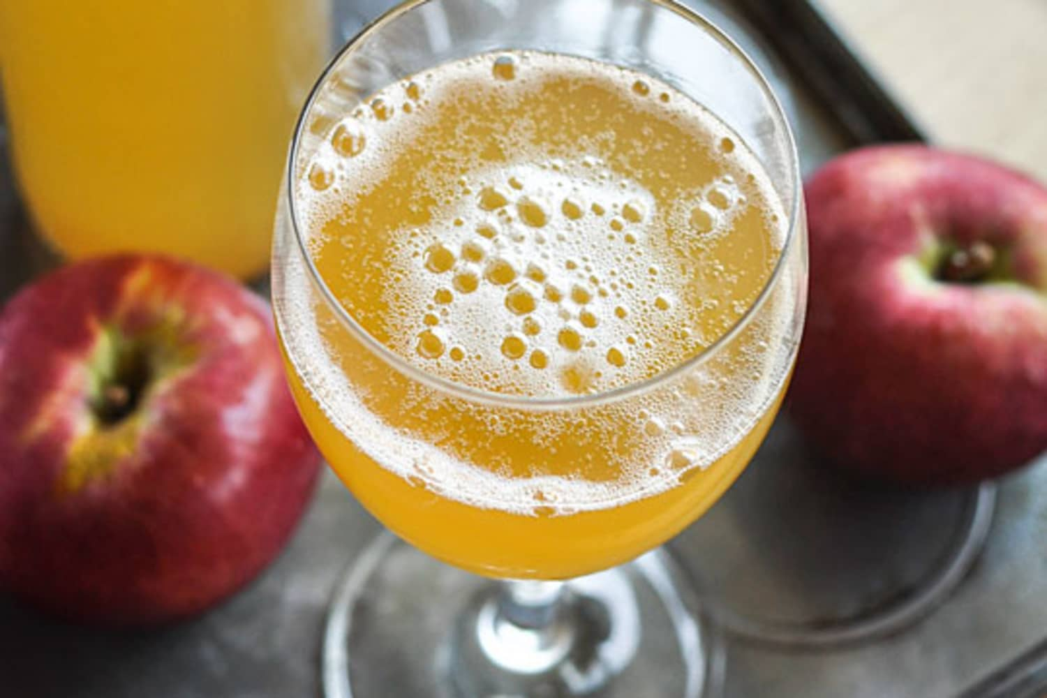 How To Make Sparkling Cider With Just 2 Ingredients Kitchn