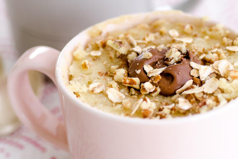 Recipe Oatmeal Nutella Mug Cake Kitchn