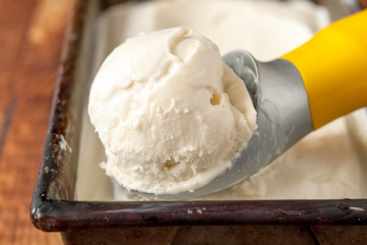 How To Make No Churn 2 Ingredient Ice Cream Recipe Kitchn