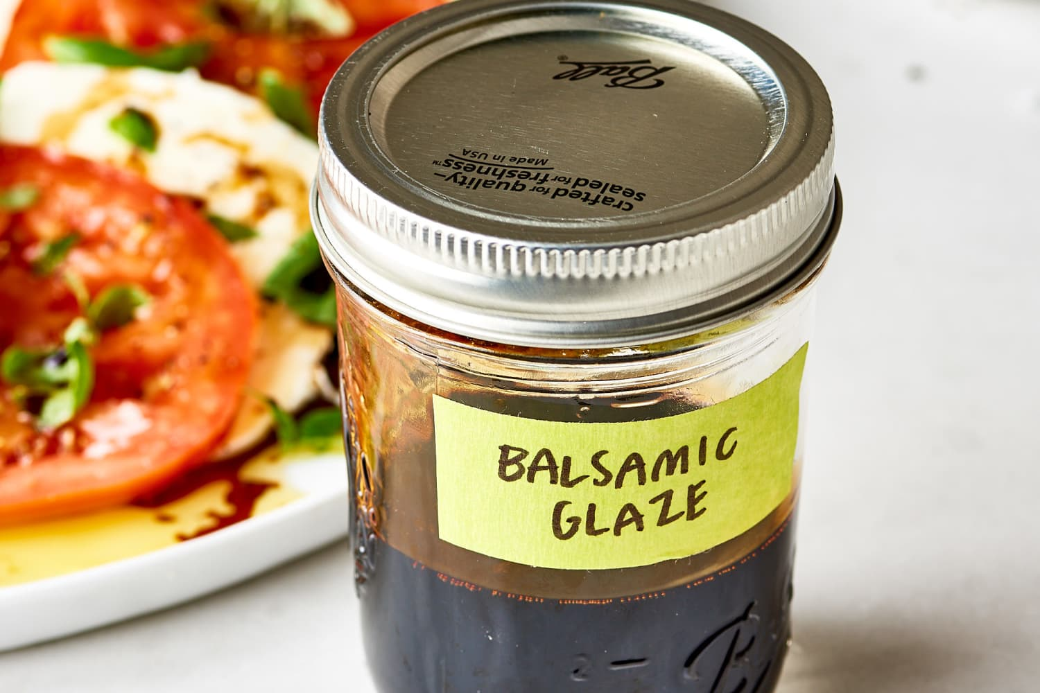 Balsamic Glaze Recipe How To Make Balsamic Reduction Kitchn