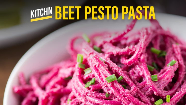 Beet Pesto Pasta