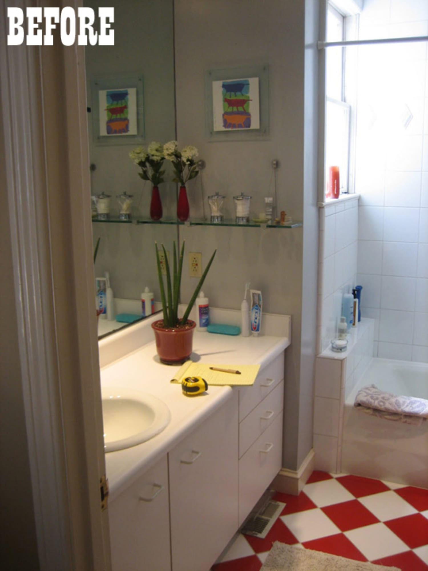 Before Amp After Jason S Beautiful Bathroom Remodel
