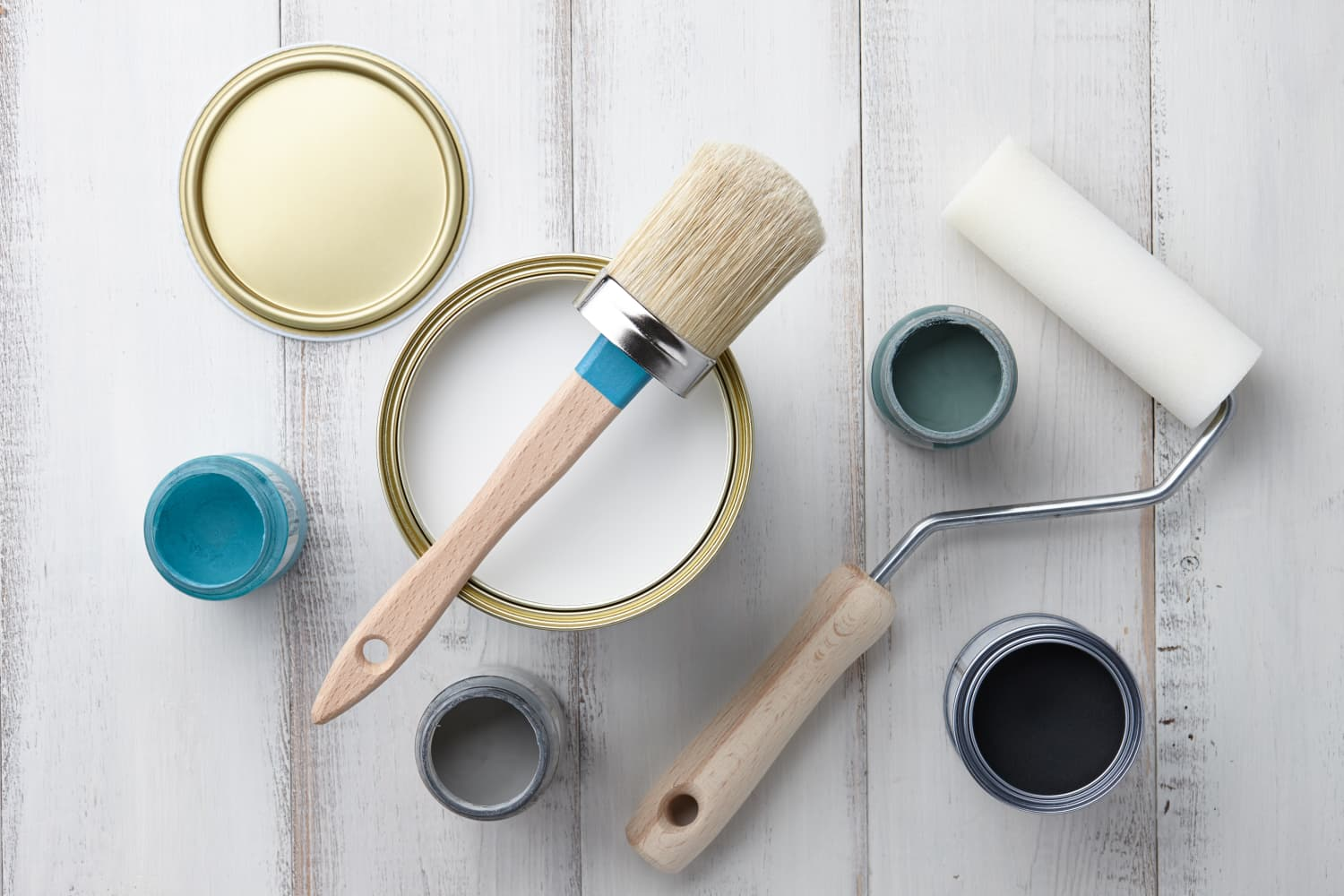 Supply checklist everything you need to paint a room - What do you need to paint a room ...