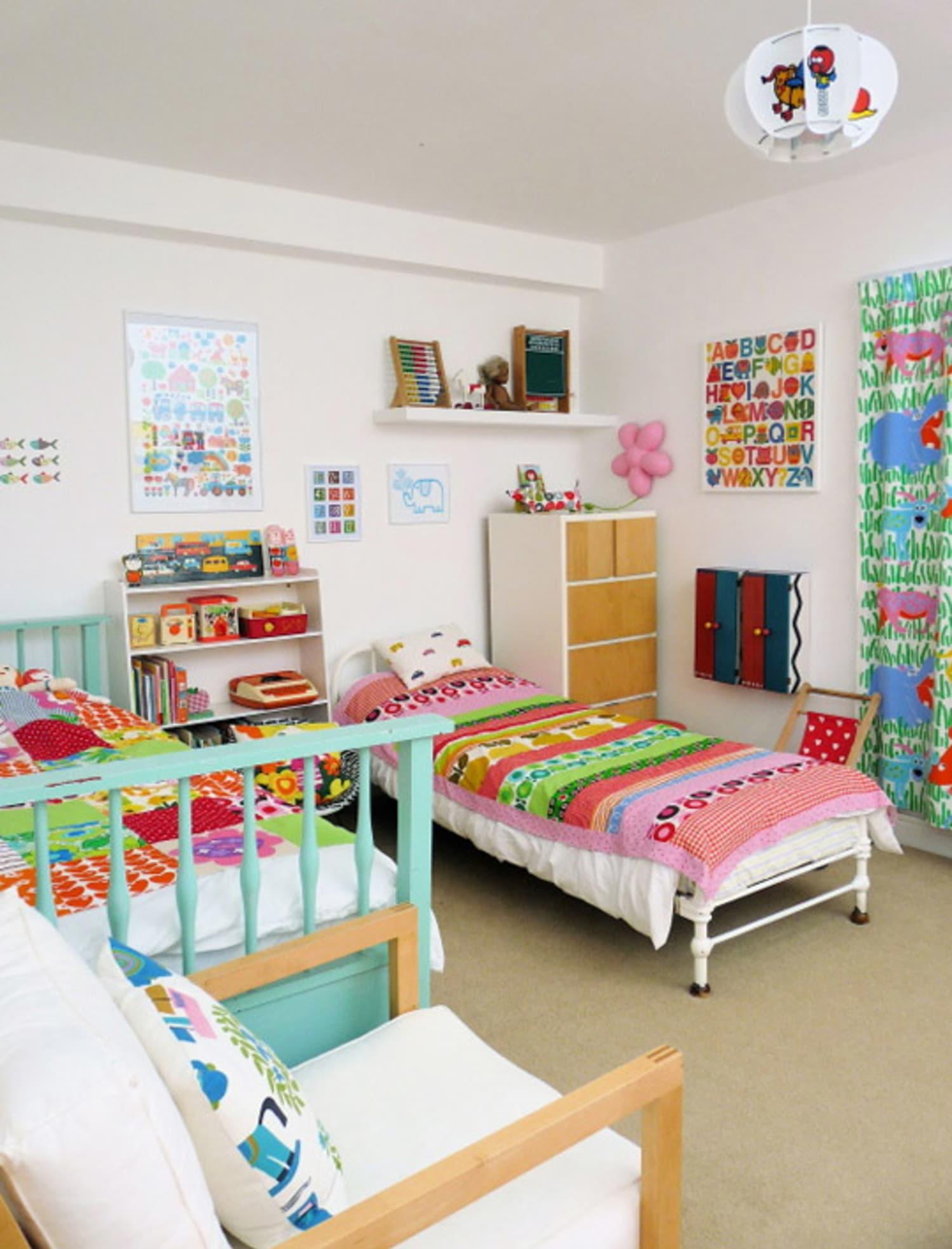 How To Get The Look: Scandinavian-Style Kids Bedroom