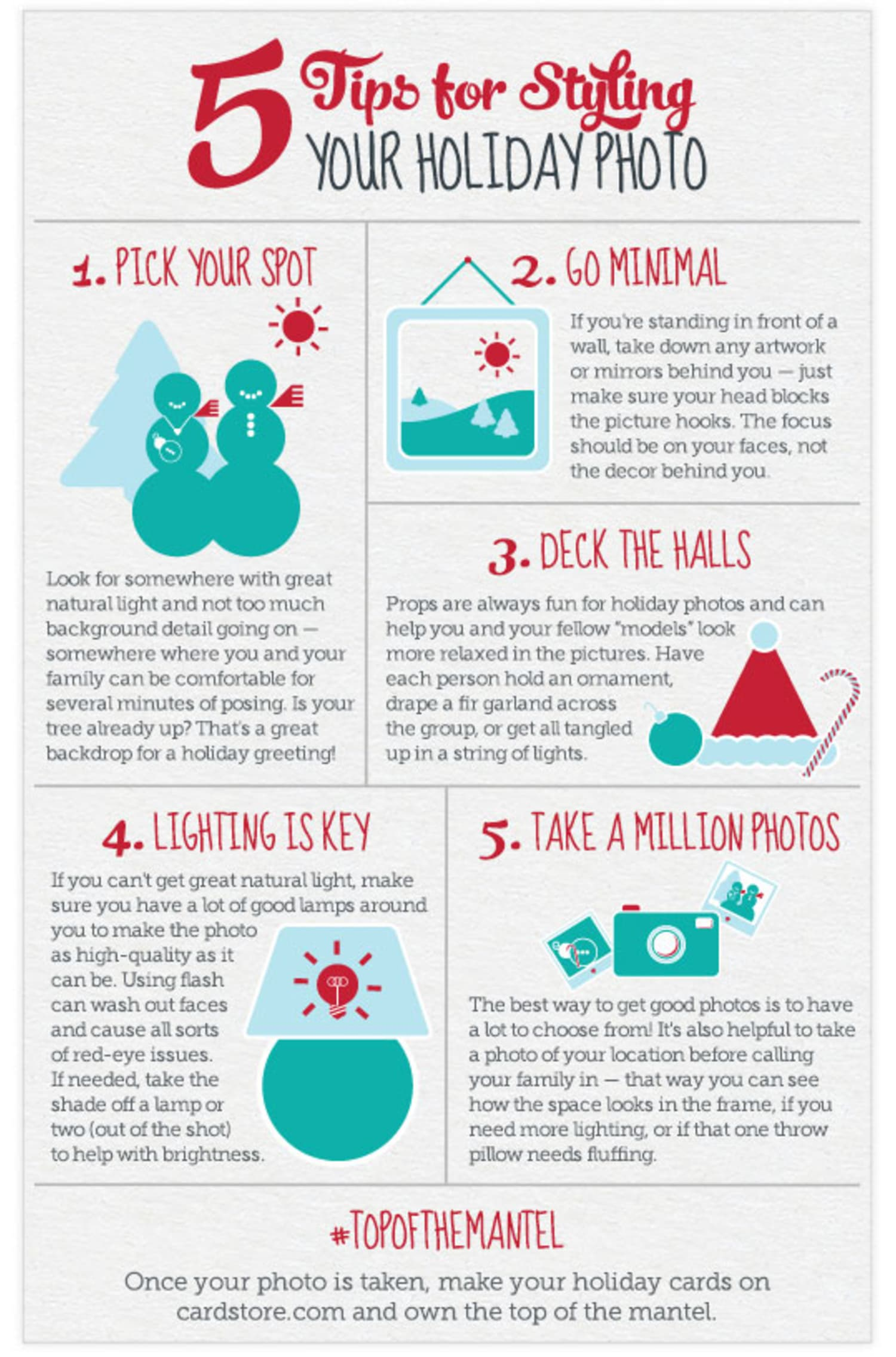 5 Tips for Styling Your Holiday Photo at Home | Apartment
