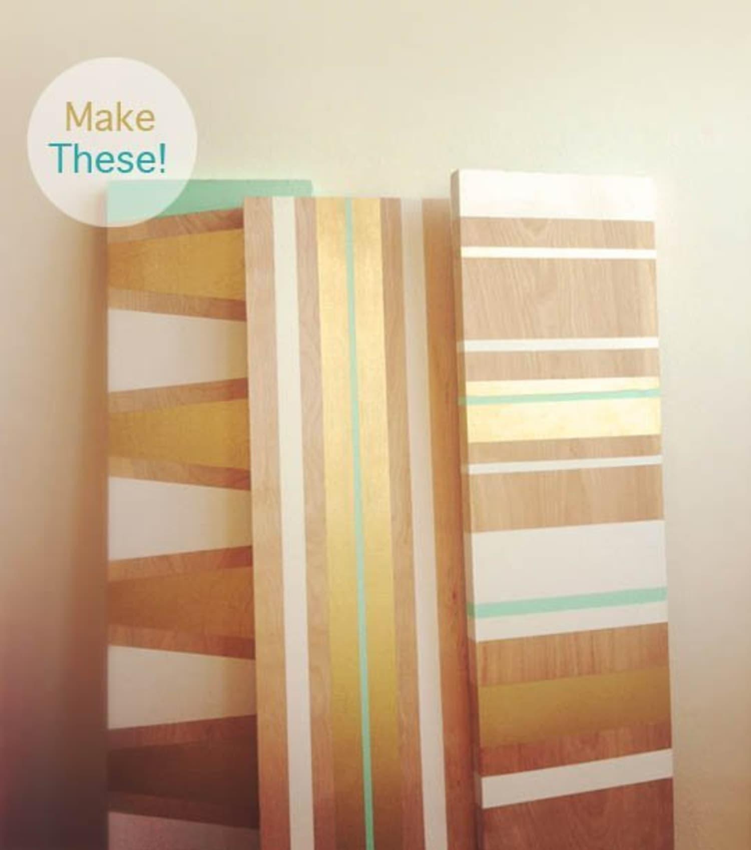 Mid Century Modern Los Angeles Apartment: Make It Organized: 10 DIY Wall Shelving & Storage Ideas