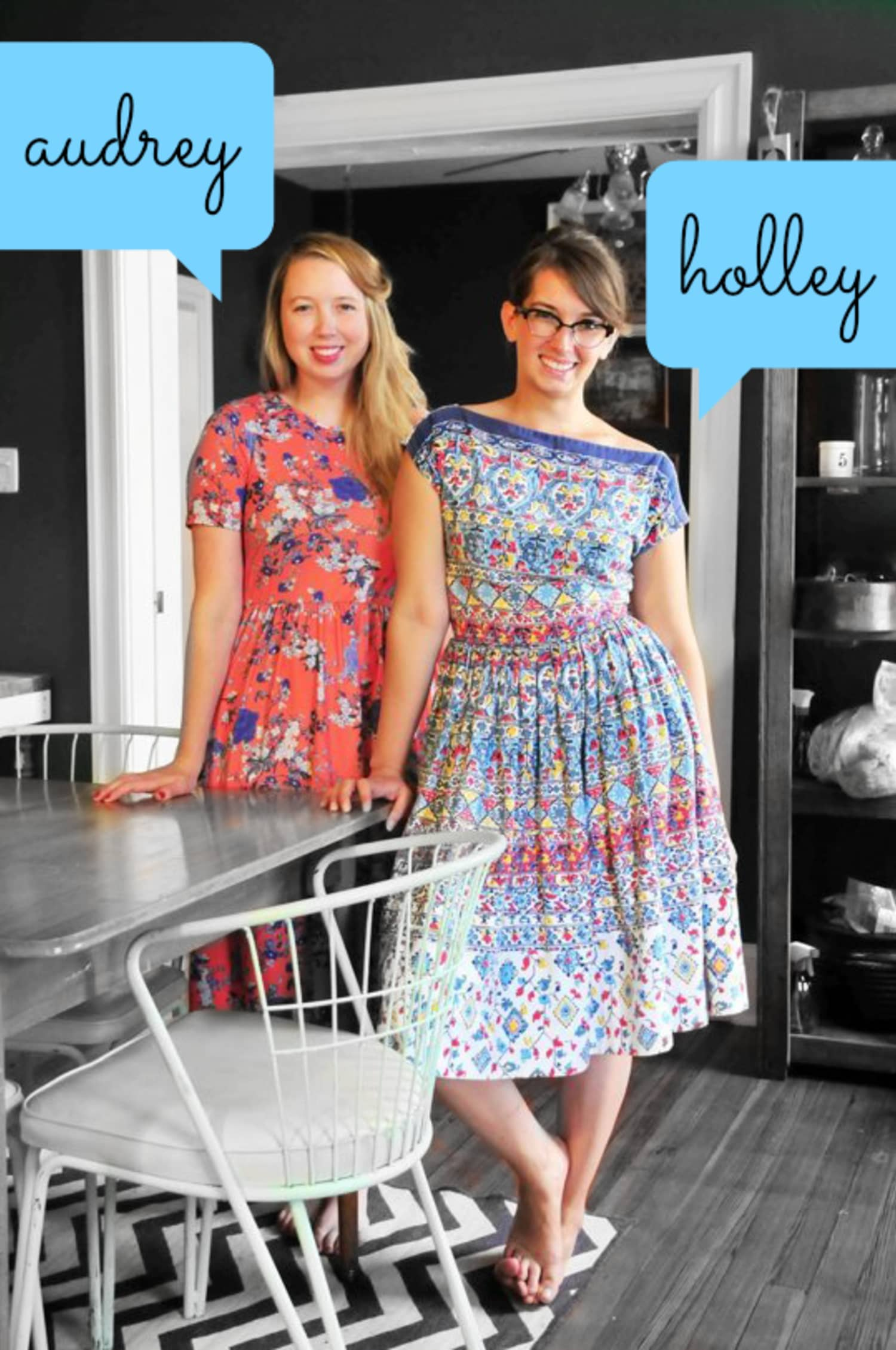 Fashionable People: Holley and Audrey's Real Life Style
