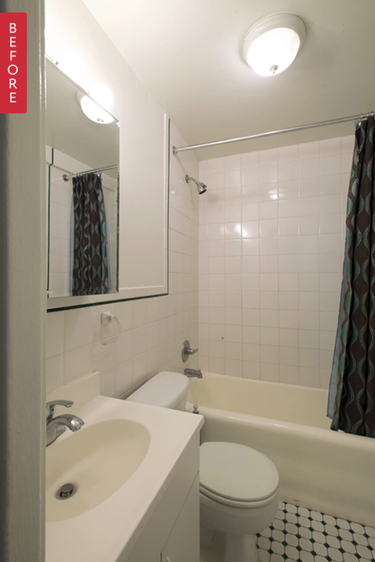 Before Amp After A Manhattan Bathroom Redo Apartment Therapy