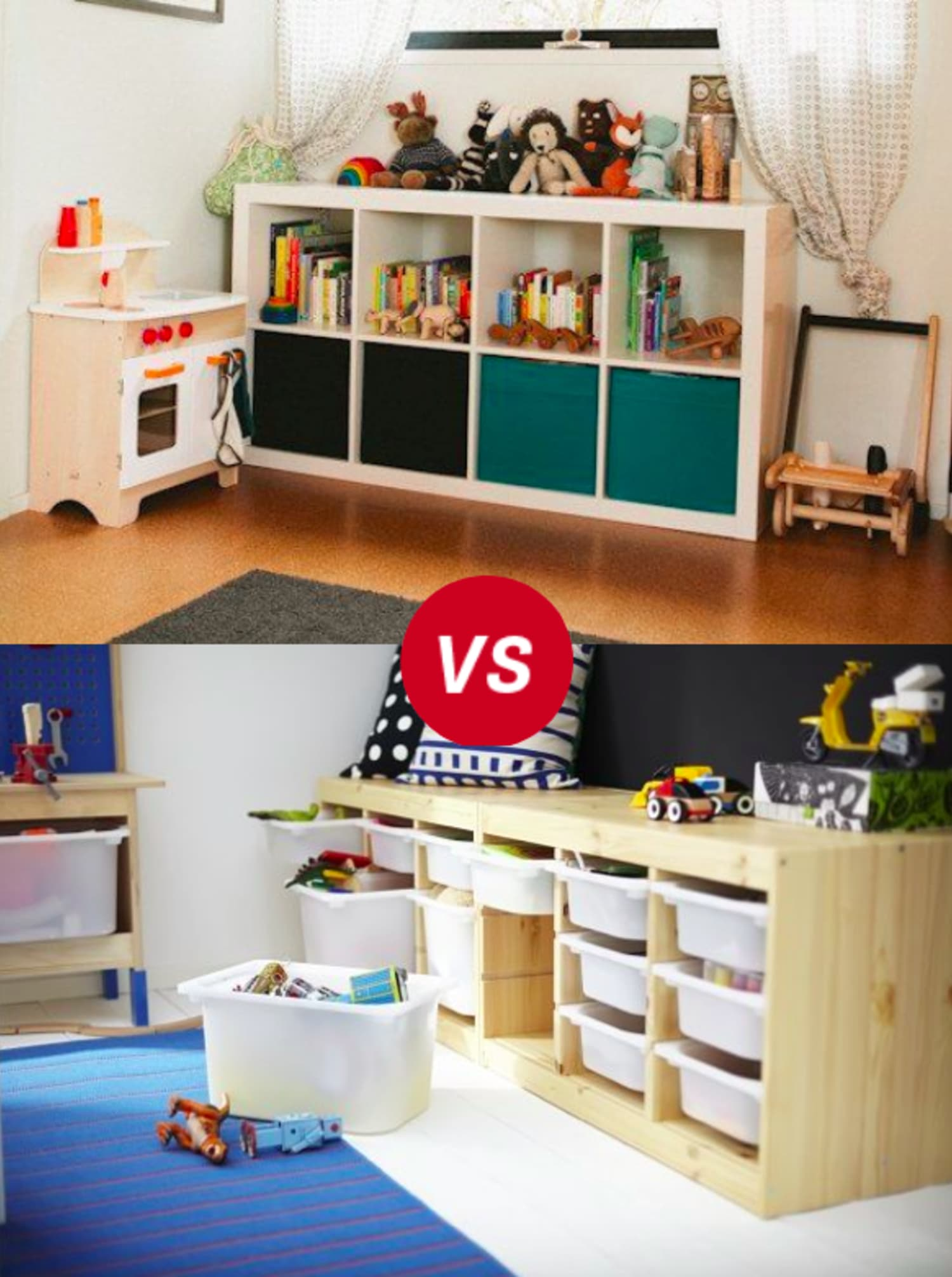 Kids Room Throwdown Trofast Vs Kallaxexpedit Apartment
