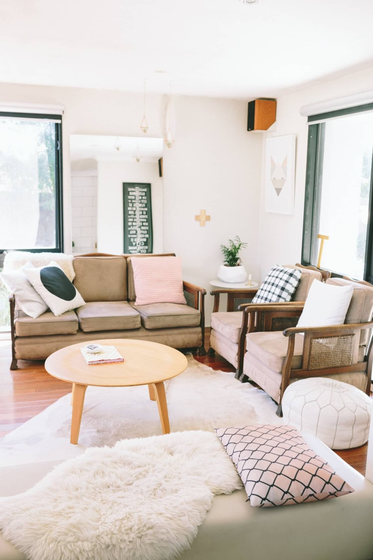 casual living room inspiration | apartment therapy