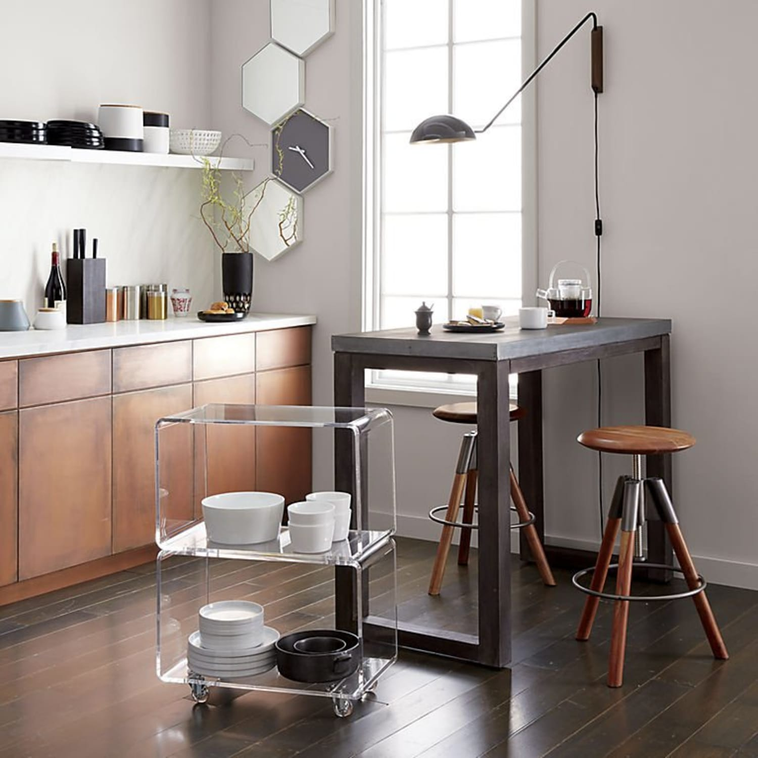 Help Getting An Apartment: 10 Stylish, Swiveling Accessories To Help You Save Space
