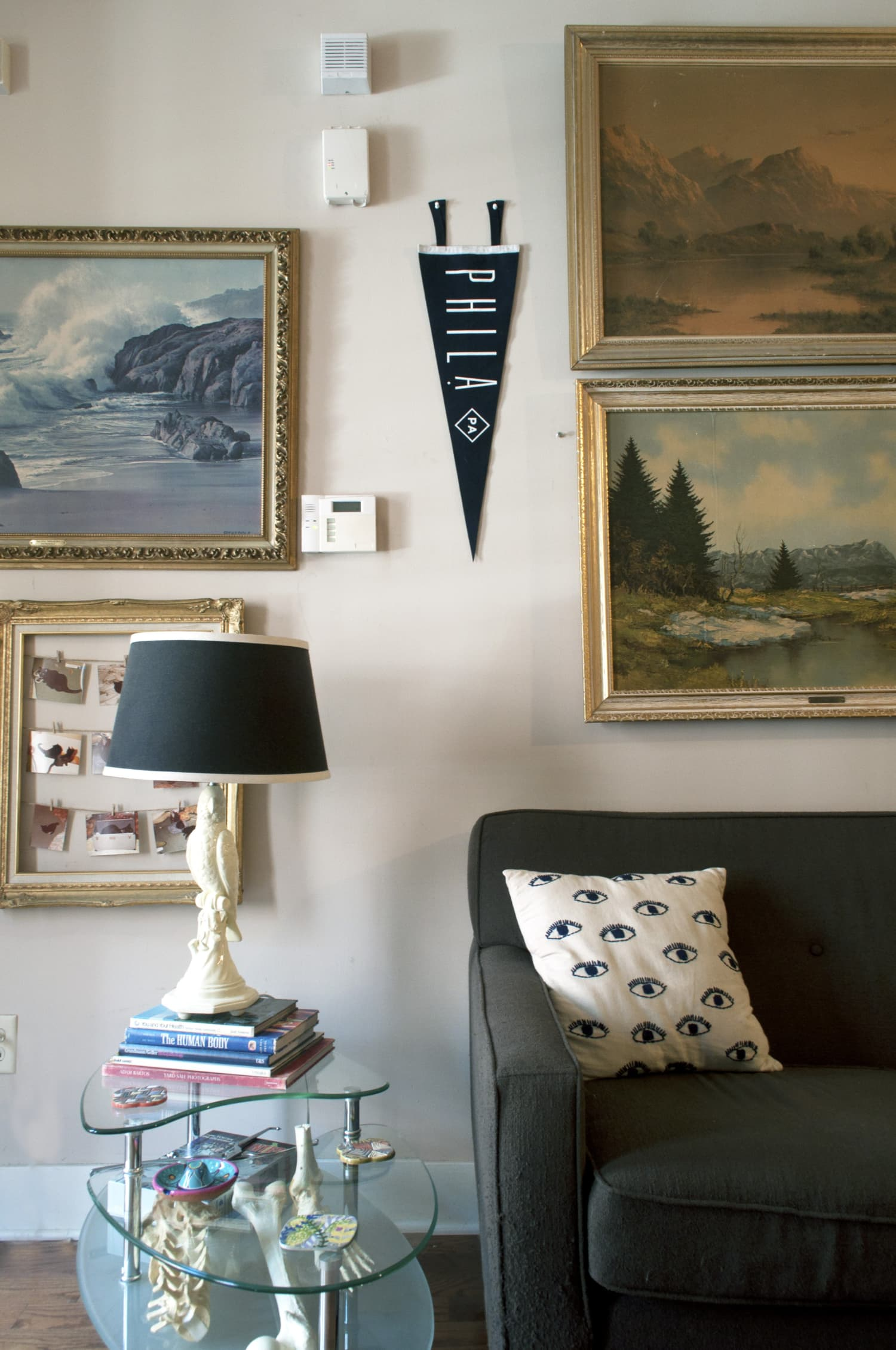 House Tour A Dark Amp Eclectic Philadelphia Home