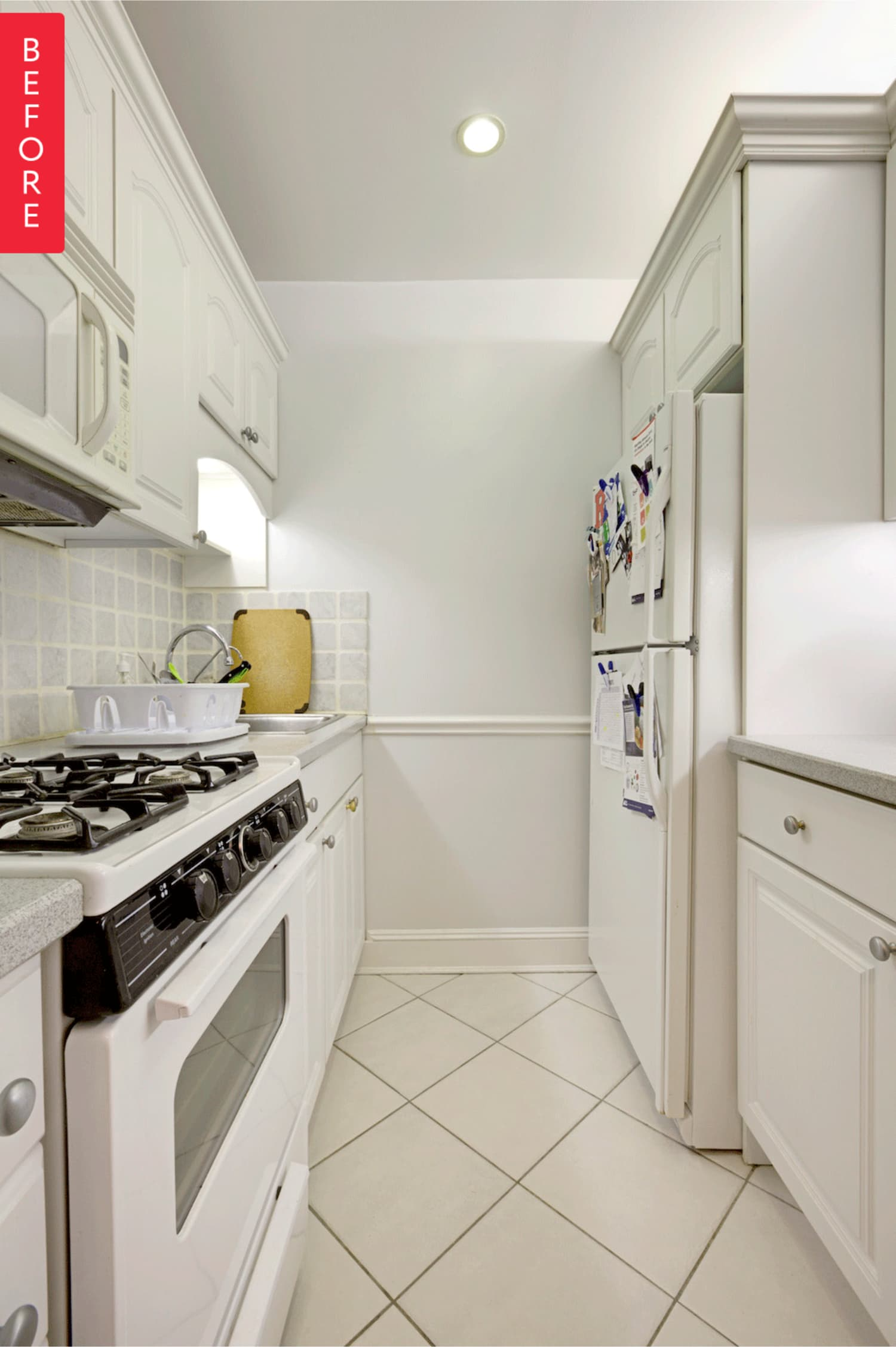 Before & After: A Modern Update for a Galley Kitchen ...
